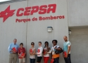 Marbella University Students at CEPSA oil refinery