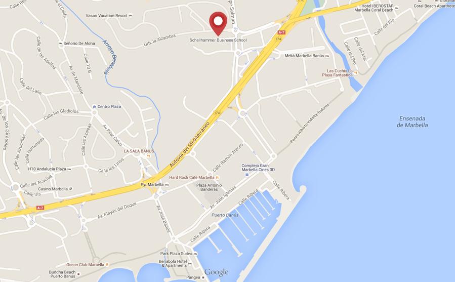 Location Map Marbella